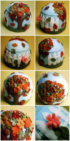 @Sharon Macdonald Macdonald Macdonald Hendrickson. Inspiration for a pin cushion!