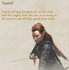 Tauriel - Lord of the Rings Wiki
