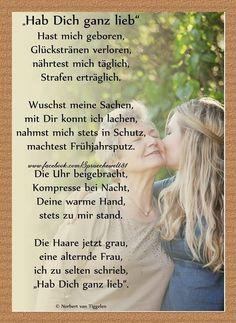 Mutter, Van Tiggelen, Gedichte, Menschen, Leben, Weisheit, Welt, Erde, Gesellschaft, Gefühle, Grüße,