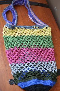 Háčkovaná síťovka s pevným dnem | AE style svět Homemade, Knitting, Bags, Crocheting, Crafting, Handbags, Crochet, Home Made, Tricot