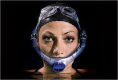 Powerbreather è una maschera concepita per non inghiottire l'acqua mentre si nuota. Powerbreather elimina gli squilibri assicurando uno sviluppo muscolare equilibrato
