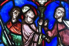 Stained glass at The Cloisters