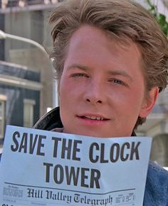 Michael J. Fox - Back to the future - wow