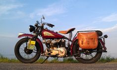 americabymotorcycle:  Indian Scout 741 (5) by miepiechief on Flickr.