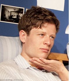 One of James Norton's early roles was a part in That Face at the Crucible Studio Theatre in Sheffield in 2010