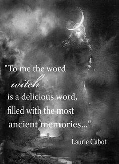 "Magick Wicca Witch Witchcraft: ""To me, the word is a dlicious word, filled with the most ancient memories. Wicca Witchcraft, Pagan Witch, Gypsy Witch, Wiccan Books, Green Witchcraft, Pagan Art, Witch Quotes, Pagan Quotes, Spiritual Quotes"