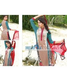 Branded Dresses Online Shopping - Charizma Summer Lawn 2015