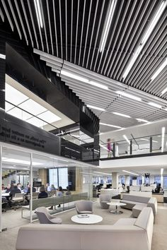 washington-post-office-design-5 Filzfelt baffle ceiling