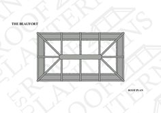Roof Plan of The Beaufort Roof Lantern