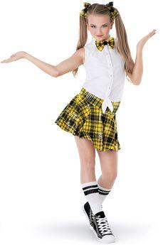 Weissman™ | Plaid Hip-Hop Schoolgirl Hip-Hop