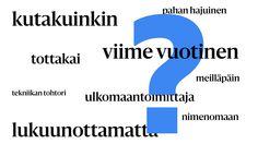 """Yhdyssanat on hyvä osata, sillä kyltissä lukeva """"pääradalle"""" ja """"pää radalle"""" tarkoittavat eri asioita. Finnish Language, Bar Chart"""