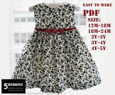 toddler girl clothes patterns | TODDLER GIRL DRESS PATTERNS « Free Patterns
