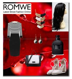 """Romwe III/1"" by m-sisic ❤ liked on Polyvore featuring Valentino"