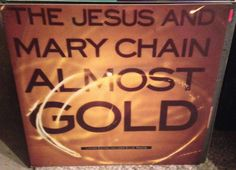 "JESUS & MARY CHAIN Almost Gold EP 10"" 1992 limited edition PROMO Blanco Y Negro #AlternativeIndie"
