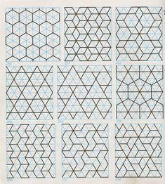 GP-B 016 Geometric Patterns & Borders. Pattern in Islamic Art - GP-B 016. Prev   Up   Next