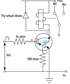 Simple Electric Shock Gun Circuit Diagram Check more at… | Tech ...
