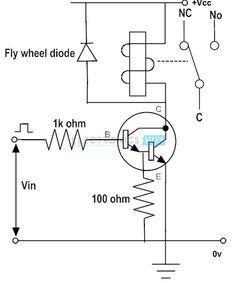 Darlington Transistor to Switch Relay