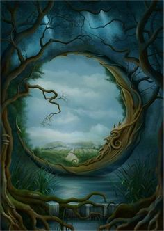 fantasy murals - Google Search