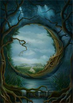 fantasy murals - Google Search