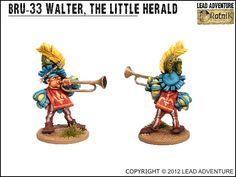 Walter, The Little Herald Lead Adventure, Miniatures, Fictional Characters, Art, Art Background, Kunst, Performing Arts, Fantasy Characters, Minis
