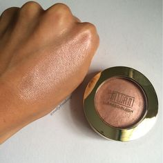 Milani Baked Blush in Rosa Romantica. Follow my instagram @mellyfmakeup for more!