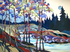 Upper Silver Creek by Carolee Clark