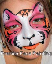 Premier Face Painting - Louisville KY Face Painting,Balloon Twisting,Airbrush Tattoos,Magican Love the colors in this so much. Face Painting Tips, Face Painting Designs, Painting For Kids, Body Painting, Airbrush Painting, Face Paintings, Tiger Face Paints, Graphic Makeup, Airbrush Tattoo