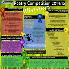 The winning entries from our recent Poetry Competition