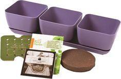 Simple Garden 3 Piece Square Planter box Set