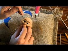How to Create Needle Felted Faces: Part 2 by Sarafina Fiber Art - YouTube