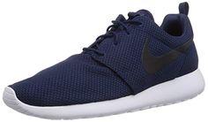 Nike Roshe Run US Men's 7 M (MidnightNavy/Black/White) Nike…