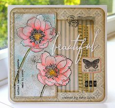 Kath's Blog...Flower Garden Stamp set