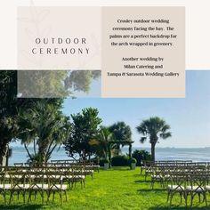 Bay side location Outdoor Ceremony, Wedding Ceremony, Plan Your Wedding, Wedding Planning, Sarasota Bay, Florida Sunshine, Star Wedding, Outdoor Settings, Wedding Gallery