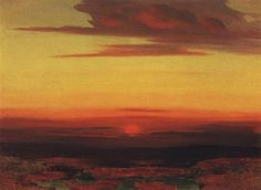 Sunset - Arkhip Kuindzhi