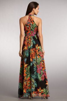 Muse - Floral Maxi Gown $124.00
