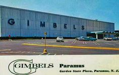 Gimbels in the Garden State Plaza, paramus, nj Garden State Plaza, Moving To Florida, Bergen County, Department Store, The Good Old Days, Vintage Advertisements, New Jersey, Vintage Shops, Growing Up