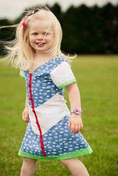 Beautiful Cotton Blue and White Dress  £19