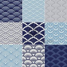 "Japanese Seamless ""Ocean Wave"" Patterns for dharma. www.lab333.com www.facebook.com/pages/LAB-STYLE/585086788169863 www.lab333style.com www.instagram.com/lab_333 lablikes.tumblr.com www.pinterest.com/labstyle"