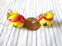 ANIMAL XING: Animal Crossing Bag of Bells earrings by TrenoNights on Etsy, $9.00