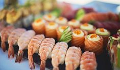An overview of where to find premium sushi restaurants and bars in Cape Town and surrounds. Creating first-class fresh sushi and sashimi, these upscale eateries boast the best there is to offer in this popular Japanese cuisine. Top Sushi, Best Sushi, Wine Baskets, Sushi Restaurants, Wine Refrigerator, Wine Making, Cape Town, Dining, Kitchens