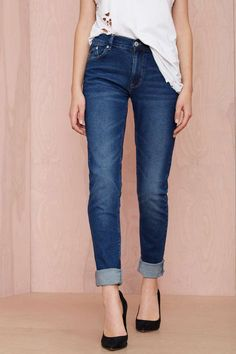 RES Denim Kitty Skinny Jean - Blue