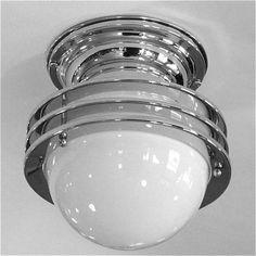 Petite Multi Ringed Streamline Saturn Ceiling Light 2