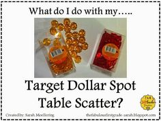 great math ideas to do with the cutesy things you get from the dollar store!