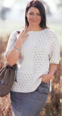 фото пуловер с рукавами реглан