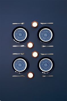 Table settings for Deko-magazine by Susanna Vento