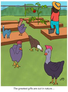 Chloe loves working at the community gardens in Sugar Town. The chickens all know her, and Blue cat too, but it never fails to amaze how Blue cat thinks that he's boss...the chickens of course, know better! The bottom line is that nature in most forms is a gift, why not let someone know they are too! Cute Happy Birthday, Happy Birthday Greeting Card, Funny Greeting Cards, Happy Birthday Quotes, Birthday Wishes Messages, Birthday Wishes Funny, Birthday Card Template, Animal Birthday, Funny Happy