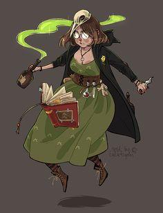 My witchsona - alchemist