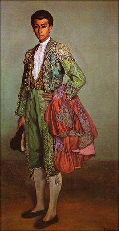 Ignacio Zuloaga - Retrato de Rafael Albaicin Más Spanish Painters, Spanish Artists, The Minotaur, Spanish Culture, Mexican Art, Beautiful Paintings, Comic Books Art, Fashion Art, Artwork