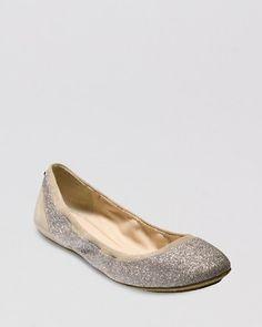Cole Haan Ballet Flats - Avery Flex Glitter   Bloomingdale's