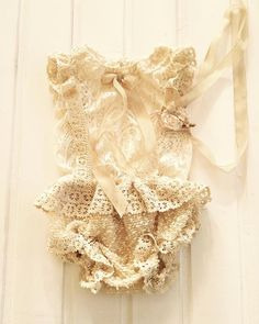 cod101 baby bloomers girl overalls. lace by 4LittlePrincessProps